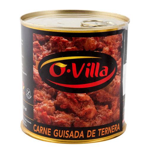 Carne guisada de ternera Ovilla